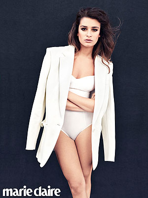 Lea Michele Is Over the 'Super-Frustrating' Diva Rumors| Couples, Glee, Cory Monteith, Lea Michele