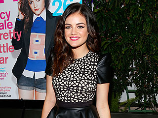 Lucy Hale Celebrates 'Incredible' Mag Cover in West Hollywood | Lucy Hale