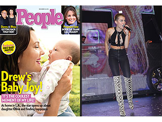 Drew Barrymore's Baby & Miley Cyrus's Outfit Make Readers Smile and Frown