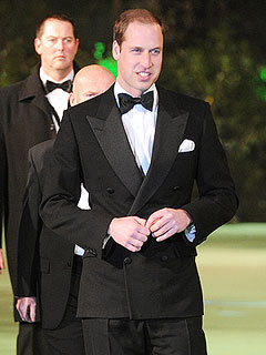 Dashing Prince William Attends The Hobbit Premiere Without Kate | Prince William