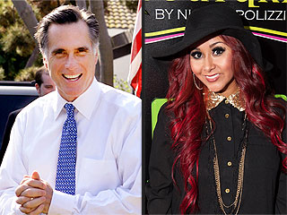 Why Was Snooki Hanging with Mitt Romney in Vegas? | Nicole Polizzi