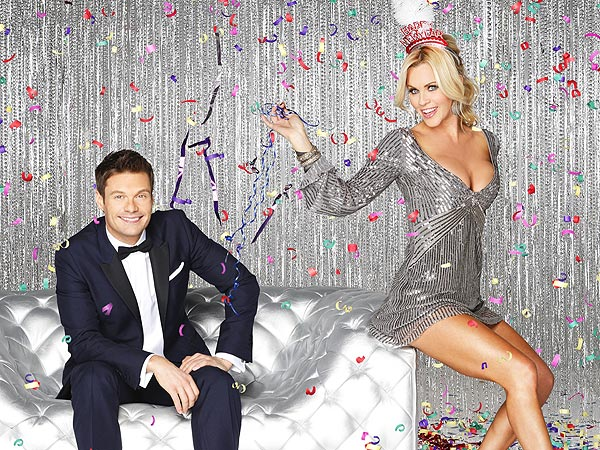 New Year&#39;s Eve: Jenny McCarthy to Party with Ryan Seacrest