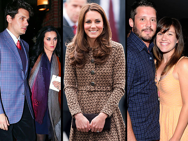 Kelly Clarkson's Engaged, Duchess Kate Is Stepping Back Out & More | John Mayer, Kate Middleton, Katy Perry, Kelly Clarkson