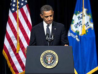 President Obama Tells Grieving Families 'We Weep with You' | Barack Obama
