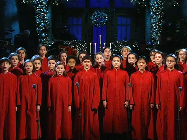 Children's Choir Pays Tribute to Shooting Victims on Saturday Night Live