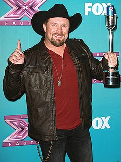 Tate Stevens Wins The X Factor