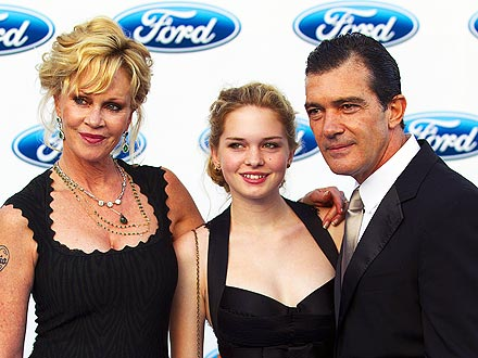 Antonio Banderas and Melanie Griffith Take Daughter Stella to Charity Gala
