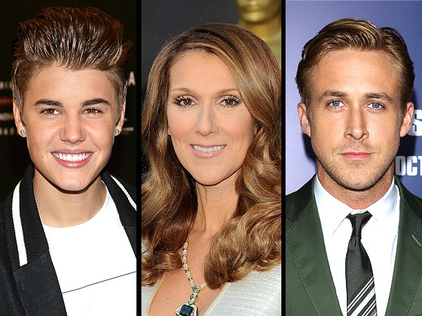 Justin Bieber, Celine Dion, Ryan Gosling, Avril Lavigne Are Related