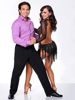 Apolo Ohno Blogs Who He's Rooting for in Dancing Finals | Apolo Anton Ohno, Karina Smirnoff