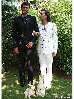 Rufus Wainwright, Jorn Weisbrodt Wedding in Montauk