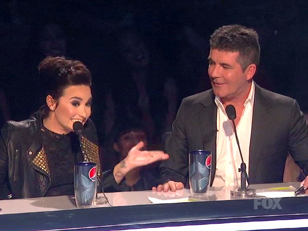 Demi Lovato's an X Factor Judge for Season 3; Simon Cowell Responds