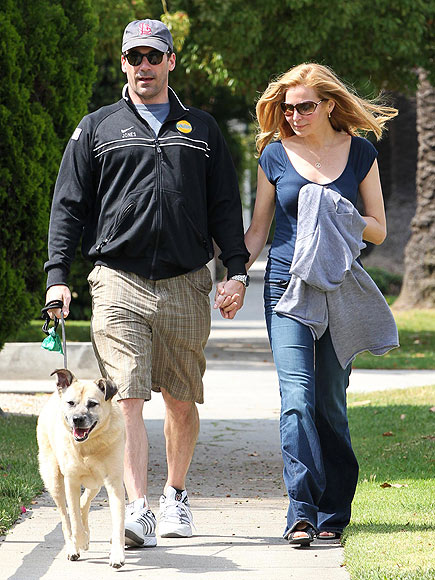 HAND TO HOLD photo | Jennifer Westfeldt, Jon Hamm