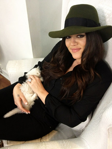 CAT NAP photo | Khloe Kardashian