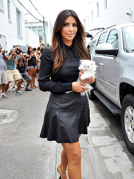 CAT WALK photo | Kim Kardashian