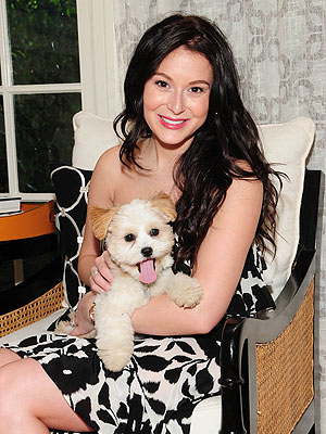 Meet Alexa Vega's New Rescue Puppy