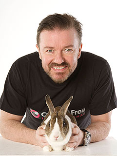 Ricky Gervais Wants to End Cosmetic Testing on Animals | Ricky Gervais