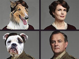 If Downton Abbey Characters Were Played by Dogs ...