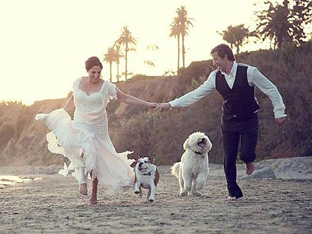 Ricki Lake Incorporates Her Dogs in Secret Wedding| Stars and Pets, Dogs, Marriage, Wedding, Ricki Lake