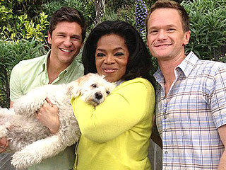 Neil Patrick Harris – and His Dog – Meet Oprah: Photo