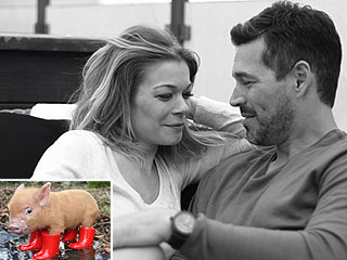 LeAnn Rimes Asks Eddie Cibrian for a Pig