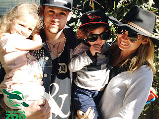 PHOTOS: The Richie-Maddens Enjoy a Zoo Day | Nicole Richie