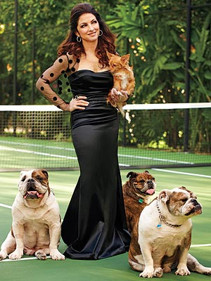 Gloria Estefan&#39;s Dogs Have Full Run of the House