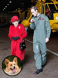 Prince William Questions the Queen&#39;s Noisy Dogs | Prince William, Queen Elizabeth II