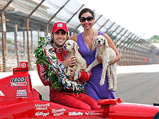 Ashley Judd's Dogs Celebrate Dario Franchitti's Indy 500 Victory | Ashley Judd
