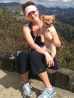 Sara Rue Loves to Get Active with Her Dogs