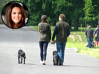 Spotted: Kate & Lupo Take a Walk in the Park | Kate Middleton