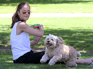 Minka Kelly & Chewy: Fun Day at the Park! | Minka Kelly