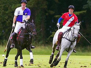 Princes Harry & William Pony Up | Prince Harry, Prince William