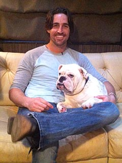 Jake Owen's Tour Bus Staple: Sleepy Dog Merle | Jake Owen