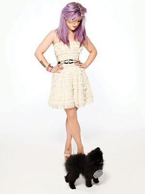 Kelly Osbourne Gets Glam with Dog Sid in Maniac Magazine| Stars and Pets, Dogs, Kelly Osbourne