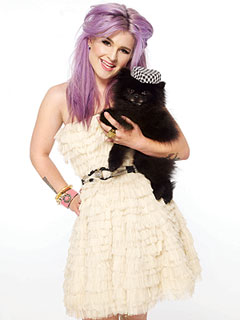 PHOTO: Kelly Osbourne Gets Glam with Her Pomeranian | Kelly Osbourne