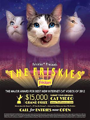 Friskies Cat Video Contest Offers $15,000 Prize