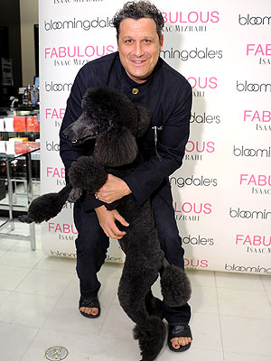 Isaac Mizrahi Launches New Fragrance &#8211; with a Poodle&#39;s Help