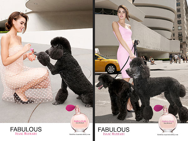 Isaac Mizrahi Launches New Fragrance &#8211; with a Poodle&#39;s Help| Stars and Pets, Dogs, Pet Style, Isaac Mizrahi