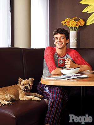 Michael Urie's (and His Dog's) Favorite Room? The Breakfast Nook!
