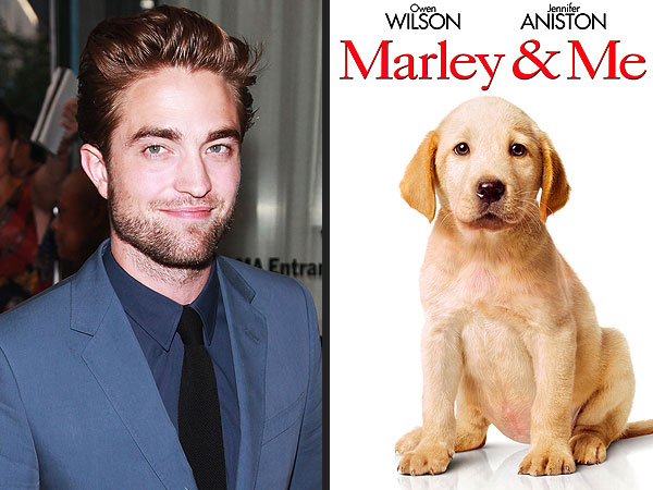 Robert Pattinson Cries Over Marley and Me