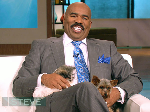 What a Pet Psychic Told Steve Harvey