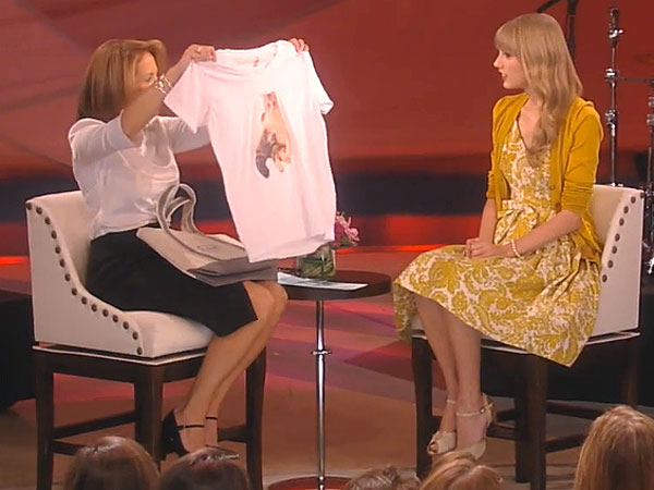 Taylor Swift Promotes Red, Talks Cat Meredith on Katie