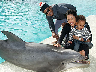 Tia Mowry Meets a 21-Year-Old Dolphin | Tia Mowry