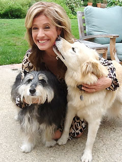 Last Man Standing Star Nancy Travis Loves Her Misbehaved Dogs