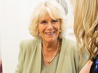 Camilla, Duchess of Cornwall, Meets a Kiwi Bird