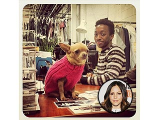 Katharine McPhee's Chihuahua Is Now Working in the Smash Costume Department | Katharine McPhee