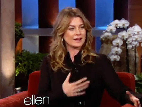 Ellen Pompeo Talks Chickens on Ellen DeGeneres