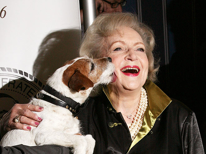 BETTY WHITE photo | Uggie, Betty White