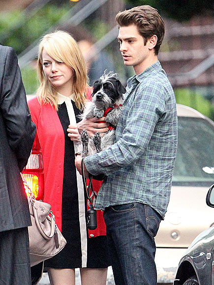 EMMA STONE & ANDREW GARFIELD photo | Andrew Garfield, Emma Stone