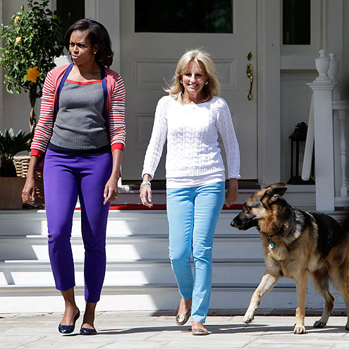 MICHELLE OBAMA & JILL BIDEN photo | Michelle Obama